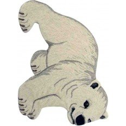 Tappeto Sitap Animals Baby Polbear White