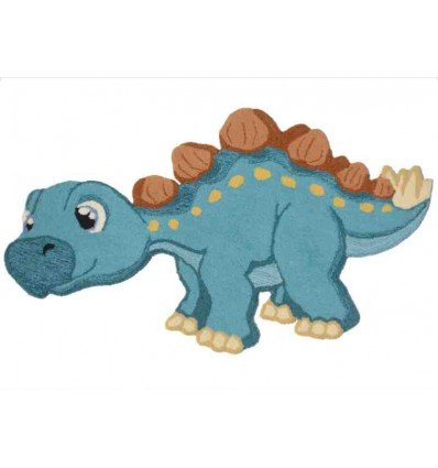 Tappeto Sitap Animals Dino 1 Turquoise