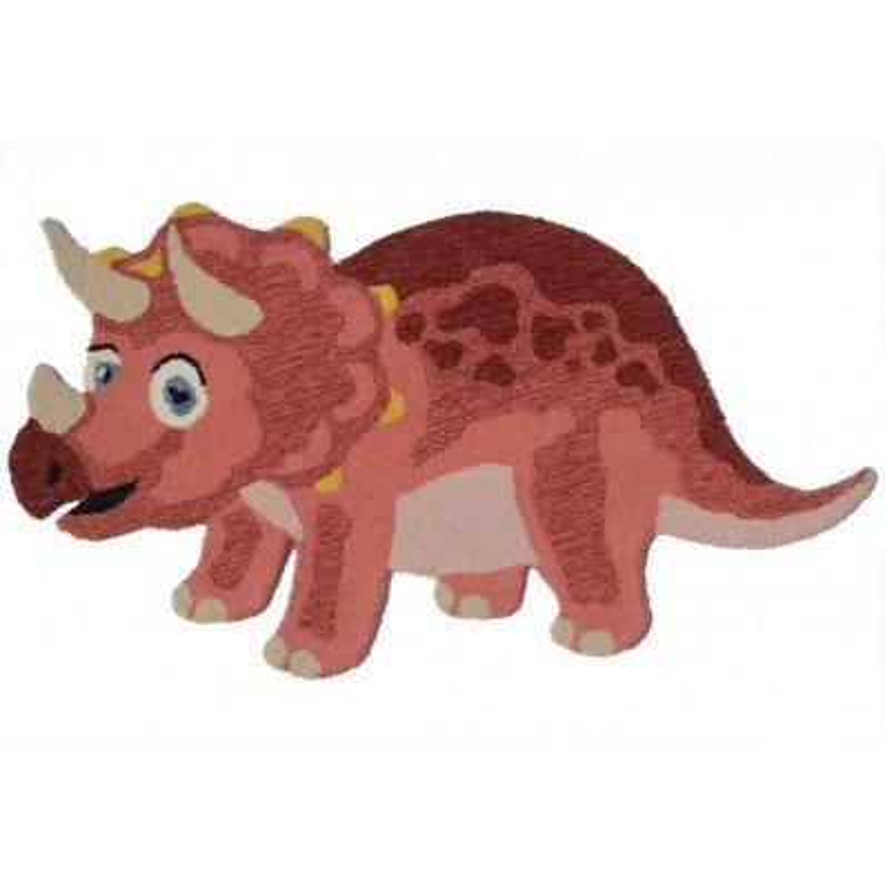 Tappeto Sitap Animals Dino 2 Rust