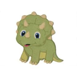 Tappeto Sitap Animals Dino 3 Green