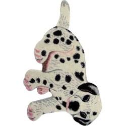 Tappeto Sitap Animals Dog Ivory-Black