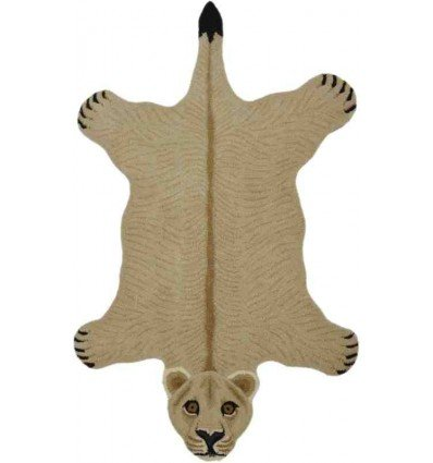Tappeto Sitap Animals Lion Natural