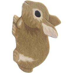 Tappeto Sitap Animals Rabbit Gold