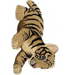 Tappeto Sitap Animals Tiger Toy Natur