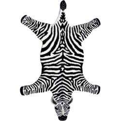 Tappeto Sitap Animals Zebra Black-White