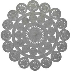Tappeto Sitap Alyssa Silver 2B Rotondo