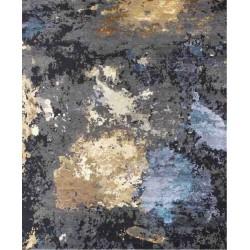 Tappeto Sitap Elite Charcoal Gold Blue
