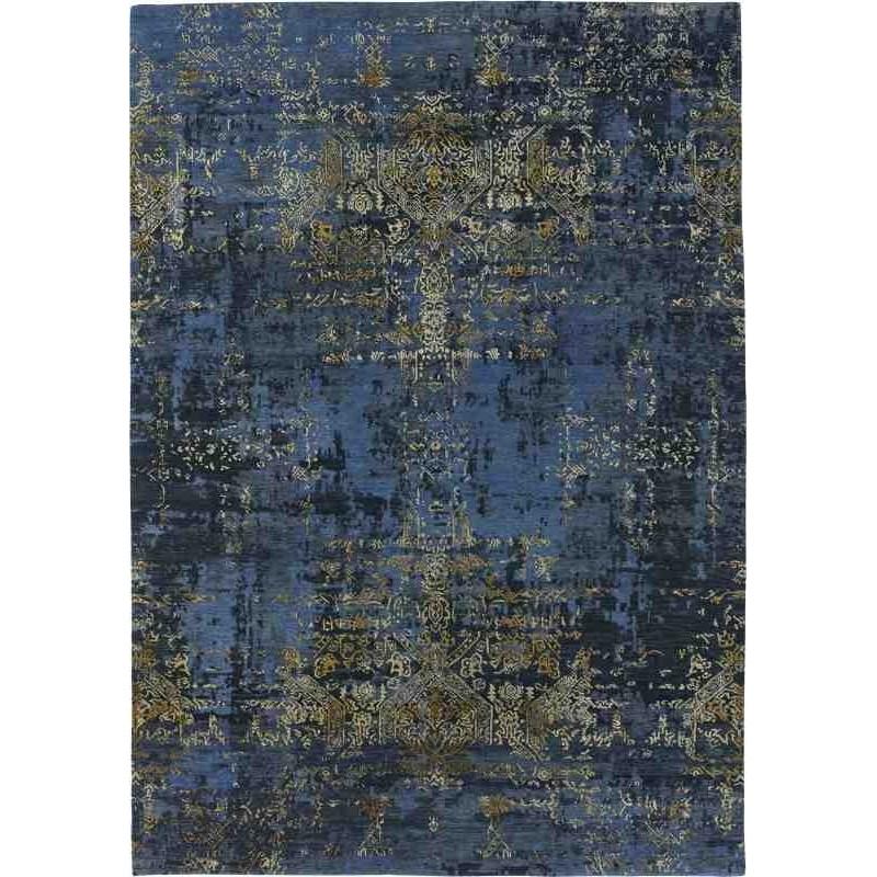 Tappeto Sitap Elite Navy Blue-Gold