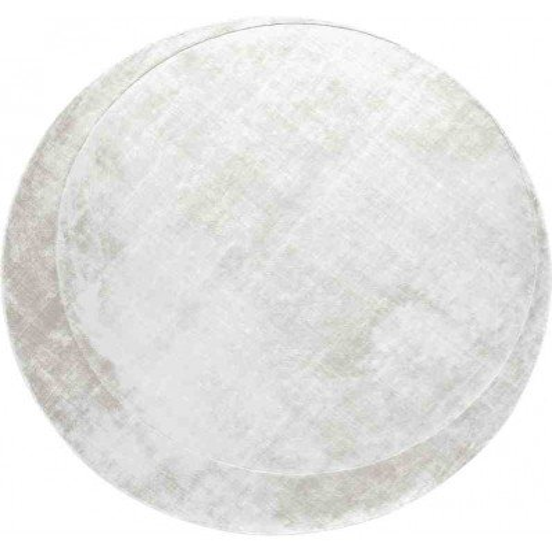Tappeto Sitap Moon Sand Rotondo